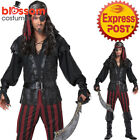 CA469 Ruthless Rogue Pirate Swashbuckler Costume Halloween Fancy Dress Up Outfit