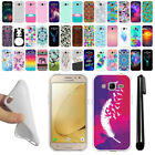 For Samsung Galaxy J2 2016 J210 2nd Gen TPU SILICONE Protective Case Cover + Pen