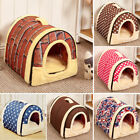 Pad Bed Cozy Cushion Dual use Pet Dog Cat Bed House Portable Puppy Dog Cave Nest