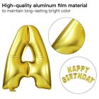 "16"" Foil Happy Birthday Balloon 13 Letters Shape Banner Bunting Party Decoration"