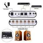 Digital Dolby AC3 Optical SPDIF PS3 to Analog Audio Gear Stereo Sound Decoder
