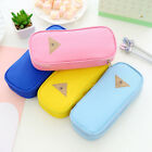 Gracious Stationery Canvas Pen Pencil Case Cosmetic Bag Travel Makeup Bags