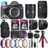 Canon EOS 5DS DSLR + 24-105mm 4L IS II + 75-300mm III + Backpack - 48GB Kit