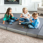 Lucid 4 inch Memory foam Mattress and Sofa Style Chair 2-in-1 folding Mattress