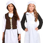 Poor Victorian Maid Girls Fancy Dress Dickens Book Day Childrens Kids Costumes