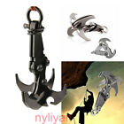Steel Folding Gravity Grappling Hook Climbing Claw Survival Carabiner Tool Set