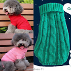 Pet Dog Clothes Winter Sweater Knitwear Puppy Clothing Warm Apparel Coat Jumper