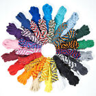 "Twisted Cotton Rope - 1/2"" Multi Color Patterns - Available in 10, 25, 50, 100'"