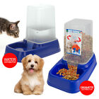 Automatic Pet Feeder Bowl Cat Dog Rabbit Food Water Dispenser Easy Clean Travel