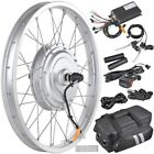 "20 24 26"" Front Wheel Electric Bicycle Motor Conversion Kit Tire 750W 1000W"
