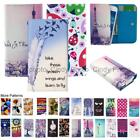 For Echo Holi Wallet Bag Flip Case Cover Wings Tower Insect Leopard Smile Love