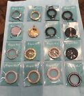 New Origami Owl Medium Twist Living Locket Faces and Bases
