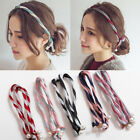 Fashion Girls Headband Floral Prints Hairband Turban Headwrap  Bandanas for Wome