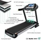 New Foldable 5.0HP Electric Motorized Treadmill Running Gym Fitness Machine MP3