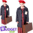 Wartime Girls Fancy Dress 1930s 1940s World Book Day Childs Kids Costume Outfit