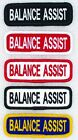 1 BALANCE ASSIST TITLE PATCH 1x3 service dog Danny & LuAnns Embroidery