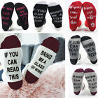 Funny Unisex Men Women Letter Printed If You Can Read This Bring Me Wine Socks