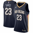New Orleans Pelicans Anthony Davis Nike Navy Swingman Jersey - Icon Edition