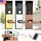 Electronic Safety Entry Door Lock RFID Cards Mechanical Keys for Home Security