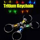25YRS Auto Titanium Tritium Keychain tube keyring Glow in the dark Light Maker