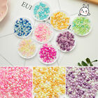 500Pcs 2.5-3mm Round Resin Pearl Loose Spacer Beads Jewelry Decoration DIY Craft