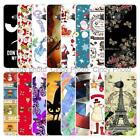 "For HTC U Play Alpine 5.2"" Christmas Plastic Case Cover 2018 New Year Tower Cat"