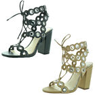 Jessica Simpson Kariss Women's Ghillie Strappy Block-Heel Dress Sandal