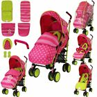 iSafe Baby Stroller Buggy Pram Pushchair Lightweight + raincover, footmuff  New