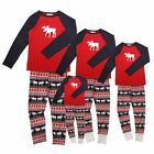 Christmas Family Matching Santa Parents Baby Kids Pajama Set Sleepwear Nightwear