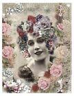 Whimsy Dust Victorian Lady Quilt Block Multi Szs FrEE ShiP WoRld Wide (W8