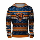 Forever Collectibles NFL Men's Chicago Bears Hanukkah Ugly Crew Neck Sweater $44.99 USD on eBay