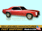 1969 Chevrolet Camaro Rally Sport RS SS Super Sport VINYL Decals & Stripes Kit