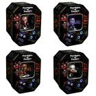 Five Nights at Freddy's collectors tin, dog tag, trading cards, special hanger