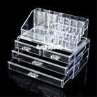 Clear Display Acrylic Stand Lipstick Cosmetics Makeup Frame Storage Organizer 0