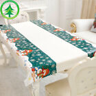 Christmas Disposable Tablecloth Cartoon Pattern For Festival Christmas Party Pop