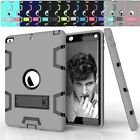 Kids Safe Soft Rubber Shockproof Defender Heavy Duty Case Cover Stand For iPad