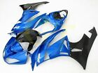 Aftermarket ABS Fairing Set for Kawasaki Ninja ZX6R ZX636 09 12 Tank pad K47-G