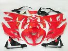 Aftermarket ABS Fairing Set for Kawasaki Ninja ZX6R ZX636 09 12 Tank pad K04-G