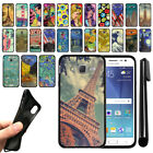 For Samsung Galaxy J7 J700 Black TPU SILICONE Soft Protective Case Cover + Pen