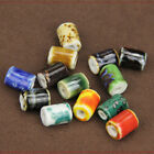 NEW 10pcs 10X14mm Cylindrical Ceramic Loose Spacer Beads DIY Jewelry Findings