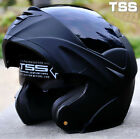 Modular Dual Visor Flip Up Motorcycle Helmet Motocross Full Face