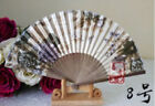 Bamboo Pocket Gifts Chinese Dance Party Folding Hand Held Flower Fan Y9993