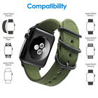 Genuine Watch Woven Nylon Band 38/42mm For Apple Watch iWatch Series 1 2 3
