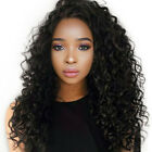 Brazilian Deep Wave Woman Wig Lace Frontal Wig + Pre Plucked Baby Hair Wigs