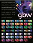 Glam & Glits Glow In the Dark Acrylic, 1 oz / 28 g - 48 Colors To Choose From!