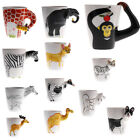 Creative 3D Hand Painted Animal Series Tea Coffee Ceramic Drink Mug Tea Cup