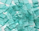 Windsor Blue English Muffle Hand Cut Stained Glass Mosaic Tiles #121
