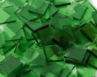 Leafy Green Artique Hand Cut Stained Glass Mosaic Tiles #385