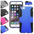 Hybrid Mesh Hard Silicone Astronoot Phone Case Cover For iPhone 6 6S Plus 5.5