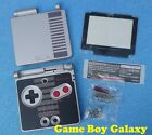 Replacement SHELL & SCREEN Nintendo Game Boy Advance GBA SP limited CLASSIC NES